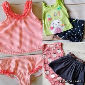 Baby Girl 9/12 Months Summer Clothing Bundle